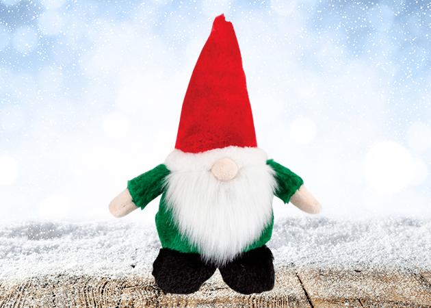 Kazoo Christmas Plush Gnome