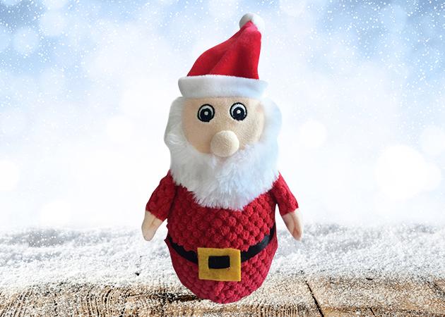 Kazoo Christmas Plush Tough Santa