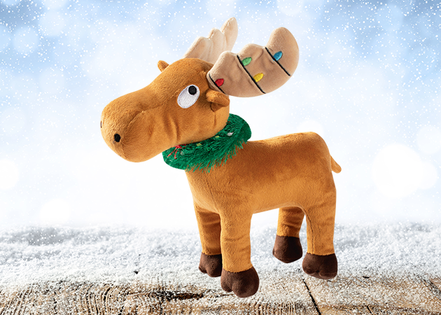 Prestige Christmas Plush Merry Chrismoose Soft Toy